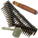 Ceinture à munitions-Dog Tag et Cigar., Rambo, terminaison mexicain de déguisement