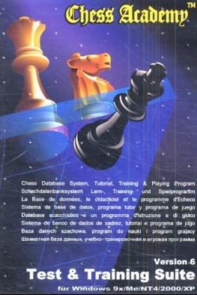 Chess Academy Test & Training Suite 6, 1 CD-ROM u. 2 Disketten (8,9 cm)Für Windows 9x/ME/NT 4/2000/XP