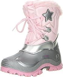 SPIRALE Kinder Mädchen Winterstiefel Snowboots Cadmium Nickel Blei FREI, Farbe:Rosa, Größe:22