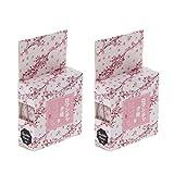 Yunso2 STÜCKE Romantische Kirsche Dekorative Washi Tapes DIY Scrapbooking Masking Tape Schule