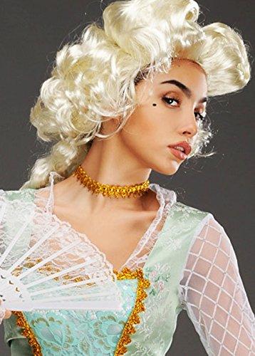Graue Blonde Marie Antoinette Perücke -