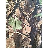 Impermeable Camuflaje Funda de tela de tienda de campaña de madera Tierra Realtree materiales Disparo tejido de la funda 1m de longitud 150cm de ancho