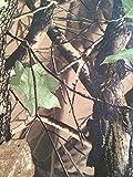 Resistente al agua de camuflaje tela Realtree madera land Material tienda de campaña sacar fotos con diseño de tejido de la funda 1 m longitud Ancho 150 cm