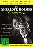 Die Sherlock Holmes Collection 4 ( Die Frau in Grün / Gefährliche Mission / Juwelenraub / Jagd auf Spieldosen ) [4 DVDs]