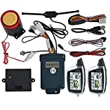 BANVIE Sistema de Alarma para Motocicleta de 2 vías