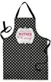 PERSONALISED MY CHILDREN HAVING YOU AS THEIR NANNY QUOTE DESIGN MOTHERS DAY APRON KITCHEN BBQ COOKING PAINTING MADE IN YORKSHIRE