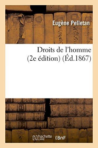 Droits de l'homme (2e édition)