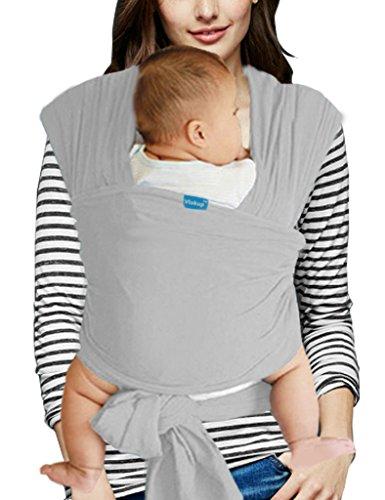 Vlokup-Fulares-portabeb-Portabeb-Algodn-Baby-Wrap-Grey