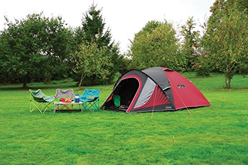 Coleman Tent The BlackOut, Festival Camping tent with BlackOut Bedroom Technology, Festival Essential, Dome Tent, 100…