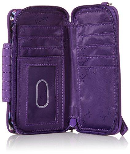 Smartphone Wristlet for Iphone 6, Damen Handgelenkstasche braun braun Vera Bradley