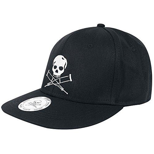 Preisvergleich Produktbild JACKASS - MTV - Skull Logo - Black - Base Cap