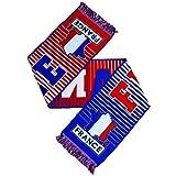 Offizielle breite ALLEZ LES BLUES Frankreich Crest Schal