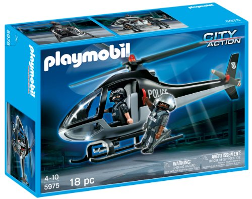 Playmobil - Police - helicopter of police edition usa