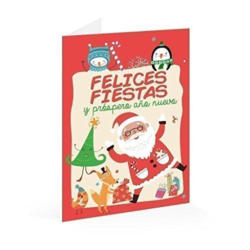 Erik- Prospero Año Nuevo Postal Navidad Felices Fiestas