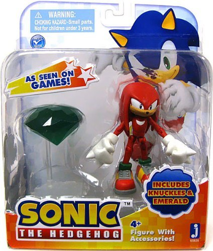 sonic-3-inch-action-figures-with-accessories-knuckles-with-emerald-by-other-manufacturer