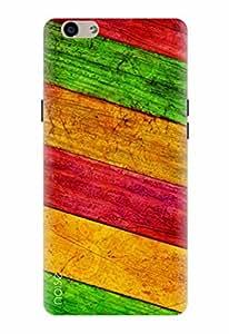 Noise Designer Printed Case / Cover for Oppo F1s / Patterns & Ethnic / Stripes Design