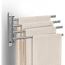 Amazonfr Barre Seche Serviette - Seche serviette mural salle de bain