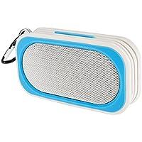 Proxelle - Mini Altavoz Bluetooth Impermeable Waterproof IP67 Bafles Portátiles Wireless Sin cables Resistente Al Agua Manos Libres Micrófono para Android iPhone PC Laptop, Azul
