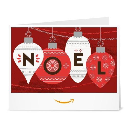 Chèque-cadeau Amazon.fr - Imprimer - Décorations de Noël