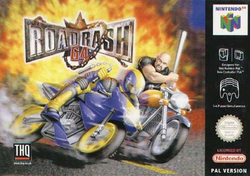 Road rash 64 - Nintendo 64 - PAL
