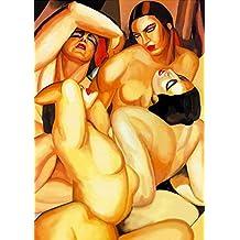 Lempicka Poster 06 cm 50x70 Poster Plakat Fine Art auf Papier Matte Foto papiarte
