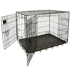 Nemaxx Cage pour chien pliable et transportable taille XL
