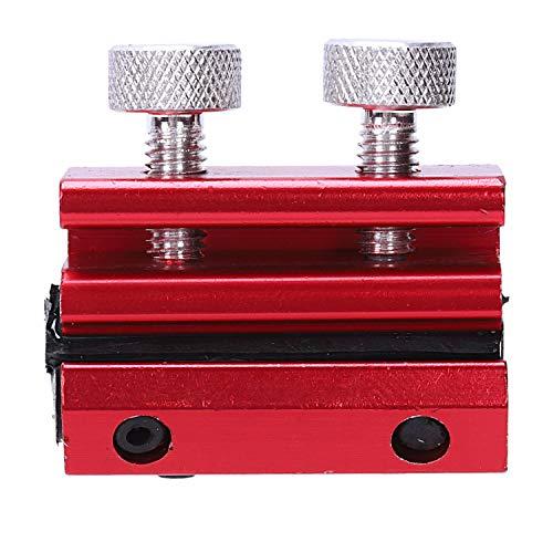 TOOGOO Herramienta De Lubricante para Cables De Aluminio para Motocicleta Engrasador De Alambre Lubricacion De Cable De Reabastecimiento De Cable Linea De Freno De Moto (Rojo)