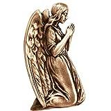 AmazinGrave - Dekorative Ornamenten Verschiedene, Grabdekorationen für Grabsteine Anwendung - Ornament für Grabstein 12x6,5cm - Grabschmuck Bronze 3071
