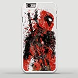 Deadpool Splatter Superhero Comics Hard Snap-On Protective Case Cover For Iphone 6 /...