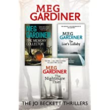Meg Gardiner 3-Book Thriller Collection: The Memory Collector, The Liar's Lullaby, The Nightmare Thief