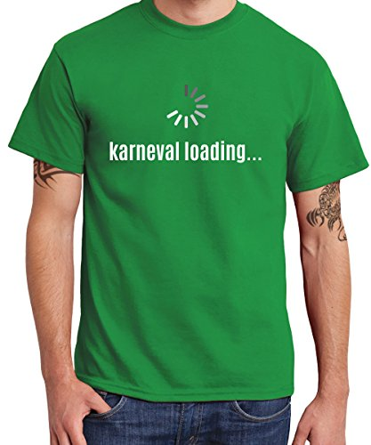 clothinx ::: Karneval Loading ::: Boys T-Shirt Kelly Green, Größe ()