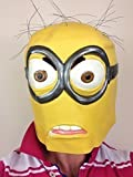 Maske für Erwachsene, Latex, Motiv Minion aus'Ich-Einfach Unverbesserlich
