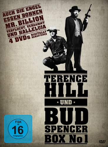 Terence Hill & Bud Spencer Box No 1 [4 DVDs] -