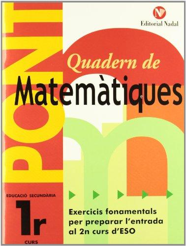 PONT ESO Matemàtiques 1er