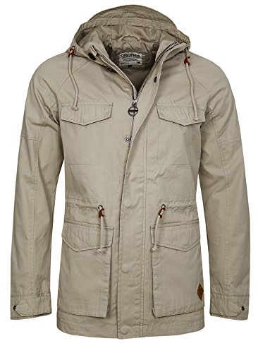 JACK & JONES HARMET SHORT PARKA Plaza Taupe