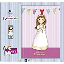 Edima - Libro de Mi Primera Comunión con USB (U500608)