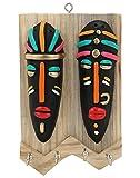 Agastya Earthenware & Wooden African Fac...