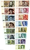 DM Geldscheine 1980,1991 von 5-1000 DM 2 Sätze Reproduktion TOP DM Geldscheine 1980,1991 von 5-1000 DM 2 Sätze Reproduktion TOP