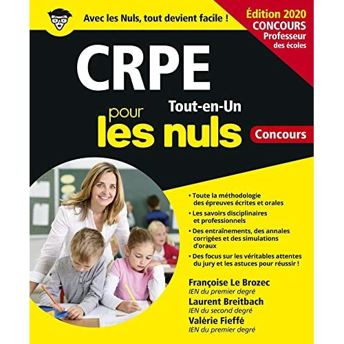 CRPE Tout-en-Un Pour les Nuls Concours, ed. 2020