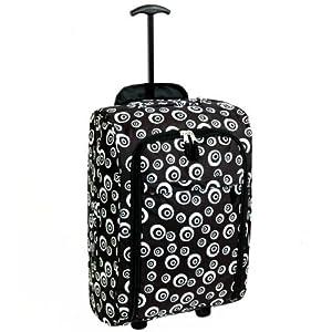 Karabar Super Lightweight Cabin Approved Luggage Bag 55 x 35 x 20 cm, 40 Litres, 1.5 kg, 3 Years Warranty!