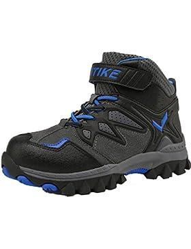 Zapatos de Algodón Botas para la Nieve Botas de Invierno para Niños Botas de Senderismo Cálido Forro Botas de...
