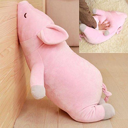 Kuschelige Schwein Plüsch Puppe Spielzeug gefüllt Piggy Animal Kissen Weihnachtsgeschenk für Baby/Liebhaber, Rosa (53CM)