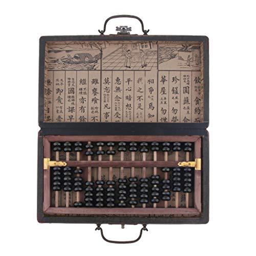 KESOTO Calculadora Tradicional Chino - Ábaco - 13 Filas