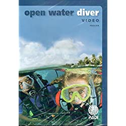 PADI Open Water DVD Training Materials for Scuba Divers