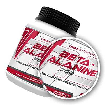 Beta-Alanine 700 - Amino-Acid increases the amount of work you can perform at high intensities