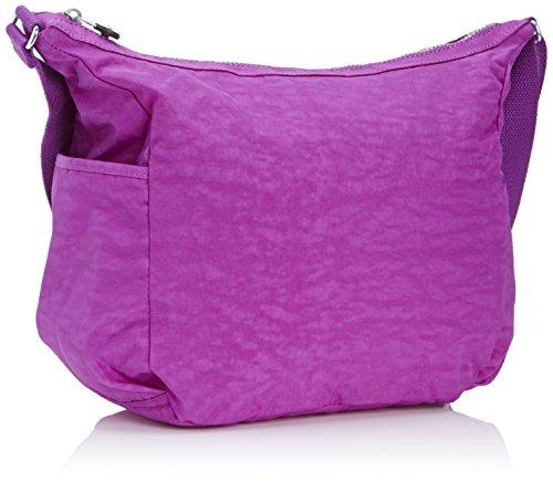 Kipling ALENYA K10623C47 Damen Schultertaschen 32x32x15 cm (B x H x T) Mehrfarbig (Purple Dahlia)