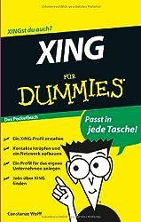 Xing für Dummies Das Pocketbuch