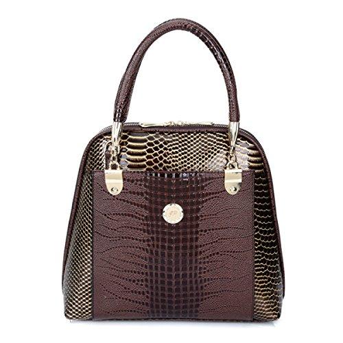 Handtaschen Neue Europäische Und Amerikanische Mode Handtasche Umhängetasche Handtasche Brown