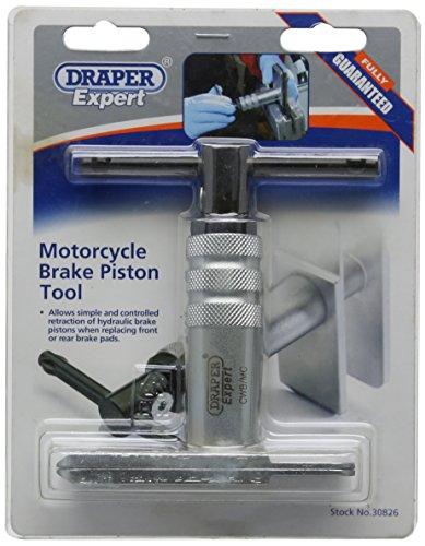 Draper 30826 - Herramienta de retorno de pistón del freno para moto