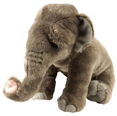 Wild Republic Peluche Elefante Asiatico Cuddlekins, 30cm